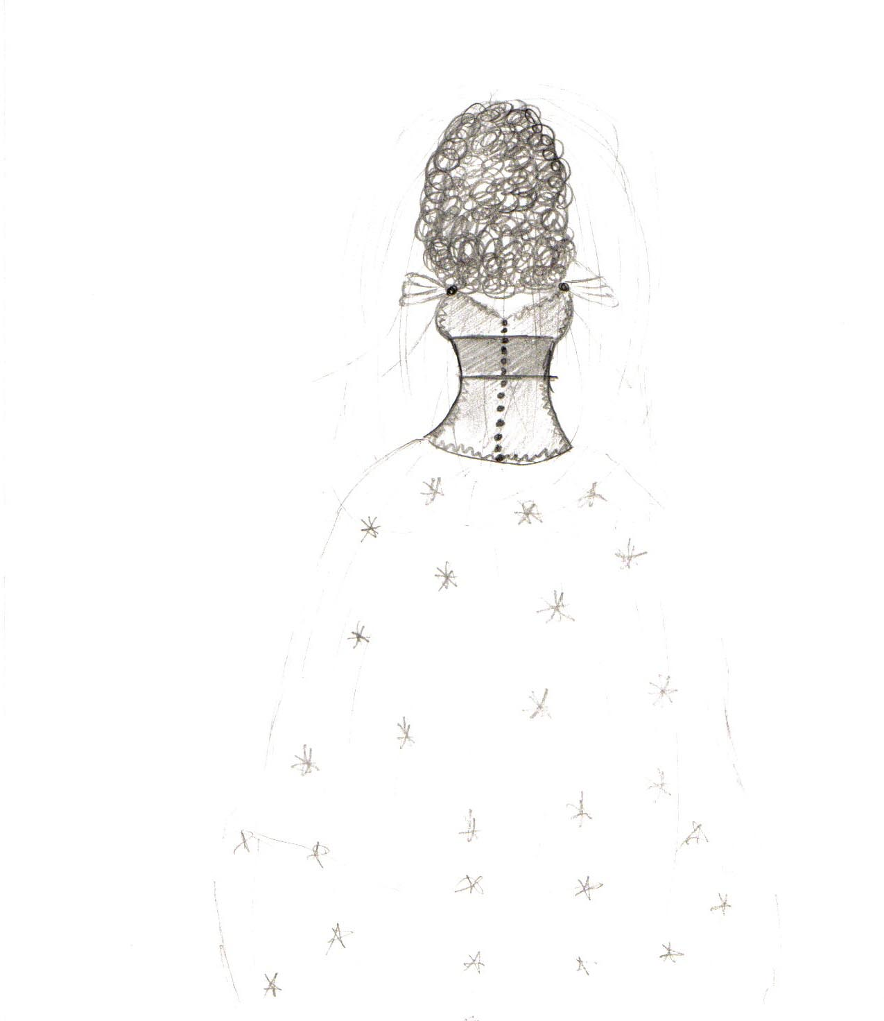 Wedding Dress Drawings Tumblr